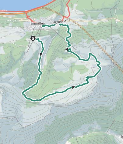 Mapa / Hochtal
