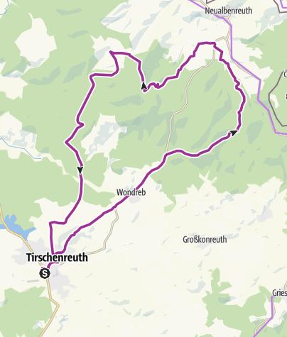 Karte / Radtour 2