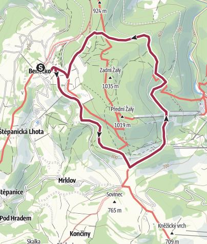 Map / VELBLOUDI CESTOU KOLEM ZALEHO