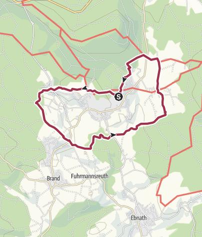 Karte / Das Teutsche Paradeiß