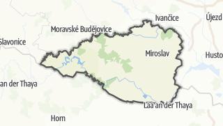 Hartă / Znojmo