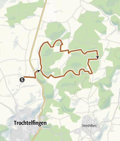 Karte / Trochtelfinger Stöckles-Cup | 12 KM