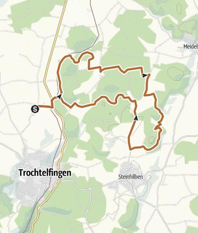 Karte / Trochtelfinger Stöckles-Cup | 16 KM