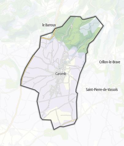 Map / Caromb