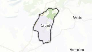 Karte / Caromb