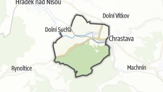 מפה / Bílý Kostel nad Nisou