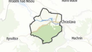 Karte / Bílý Kostel nad Nisou