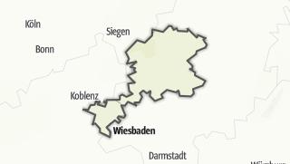 Mapa / Rutas MTB en Lahntal