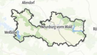 Mapa / Neunburg vorm Wald