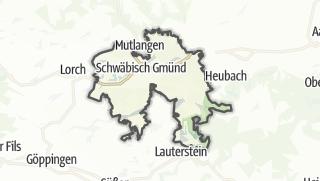 Mapa / Schwabisch Gmund