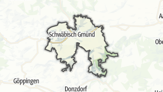 地图 / Schwabisch Gmund