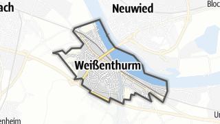 地图 / Weißenthurm
