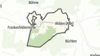 Cartina / Ahlden (Aller)