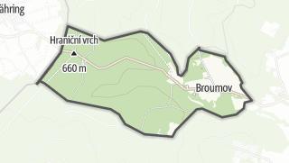 Karte / Broumov
