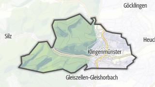 Mapa / Klingenmünster