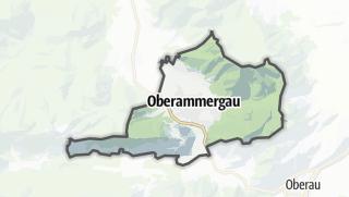 Mapa / Oberammergau