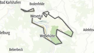 Map / Oberweser