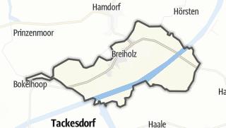 Karte / Breiholz