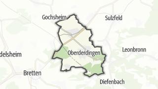 地图 / Oberderdingen
