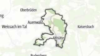 מפה / Althütte
