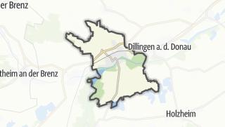 Mapa / Lauingen (Donau)