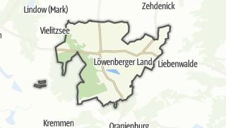 Cartina / Löwenberger Land