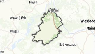 Karte / Rhein-Hunsrück-Kreis