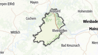 Cartina / Rhein-Hunsrueck-Kreis