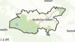Mapa / Neukirchen-Balbini
