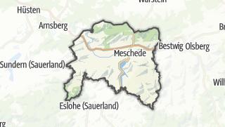 Karte / Meschede