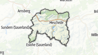 Mapa / Meschede