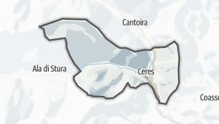 מפה / Ceres