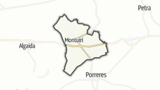 Karte / Montuïri
