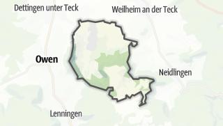 Cartina / Bissingen an der Teck