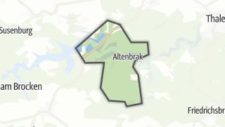 Mapa / Altenbrak