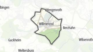 Mapa / Willmenrod