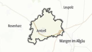 Cartina / Amtzell