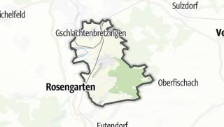 地图 / Michelbach an der Bilz
