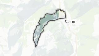 Mapa / Ried im Zillertal