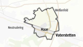Karte / Haar