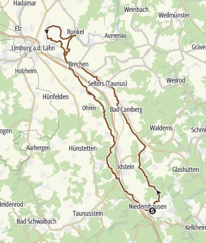 Karte / Tour 20140724