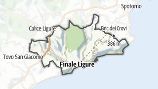 Map / Finale Ligure