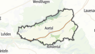 Mapa / Auetal