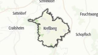 地图 / Kreßberg