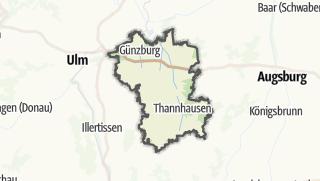 Map / Gunzburg
