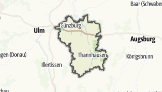 Karte / Günzburg