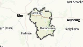 Mapa / Gunzburg