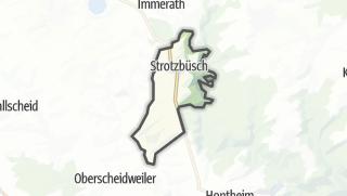 Karte / Strotzbüsch