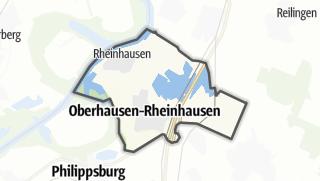 Mapa / Oberhausen-Rheinhausen
