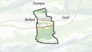 Cartina / Sorvilier